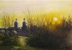 """Sunset Wittenberg"" by Ron Lewis - Certificate of Recognition"