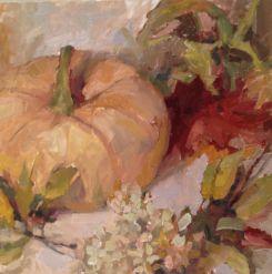 Barbara Davis - Pumpkin still life